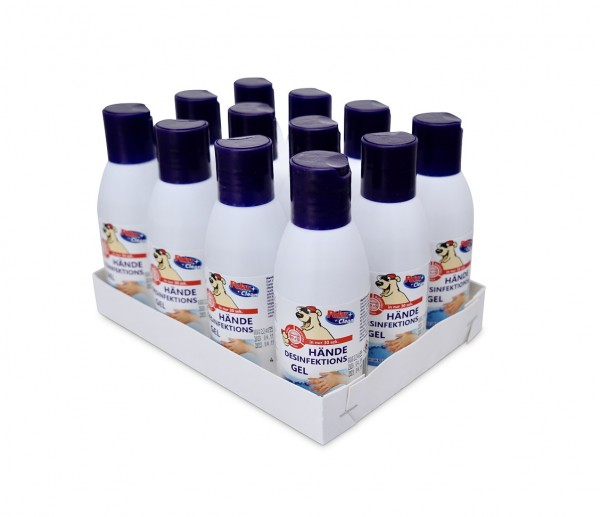 Polar Clean Hände Desinfektionsgel Tray 12 x 100 ml
