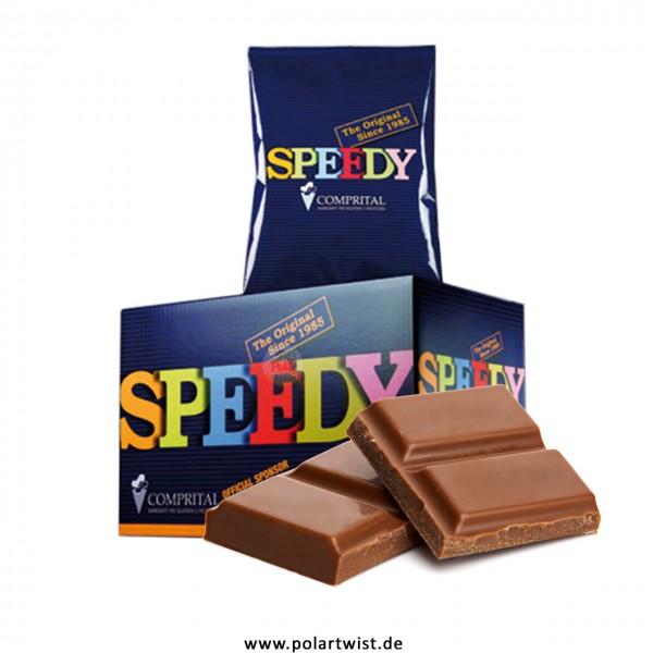 SPEEDY Milchschokolade aus der Schweiz