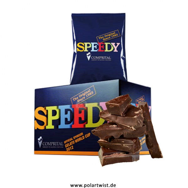 SPEEDY Dunkle Schokolade